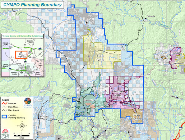 CYMPO Planning Boundary